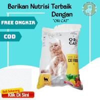 Makanan snack pakan cemilan hewan kucing kitten kering basah murah