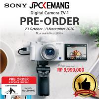 Sony ZV1 ZV 1 Z-V1 Kamera Vlog Compact Digital Camera GARANSI RESMI