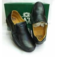 Sepatu Pantofel Sepatu Kulit Asli Pria Model Casual Santai