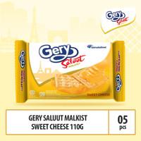 Gery Saluut Malkist Sweet Cheese -110g - 5pcs By GarudaFood