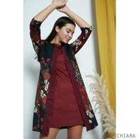Chiara Dress Jumbo - Dress Batik Jumbo Wanita Terusan Wanita