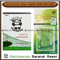 Baterai Acer Liquid Z520 BAT-A12 Double Power Batre HP Rakkipanda