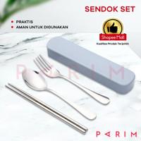 PARIM SENDOK MAKAN / SENDOK MAKAN STAINLESS ALAT MAKAN SET PRM-155