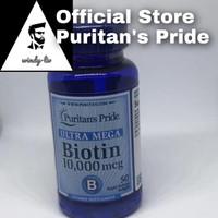 Puritan Pride Biotin 10000 mcg isi 50 softgel