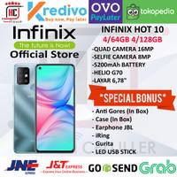 INFINIX HOT 10 4/64GB 4/128GB GARANSI RESMI INFINIX INDONESIA