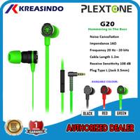Plextone G20 Jack / G20 Type C In ear Gaming Earphone Headset Original