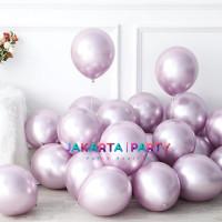 Balon Latex Chrome Soft Pink / Balon Metalik Chrome / Ballon Chrome