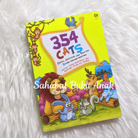 Buku Anak Islami 354 Cats Cerita Aktivitas Teka-teki Silang Binatang