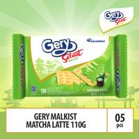 Gery Saluut Malkist Matcha Latte - 110g (MACA2) 5 Pcs By Garudafood