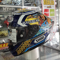 Promo !!!Helm Shoei X-spirit lll MARQUEZ MOTEGI 3 size L DOT eurofit