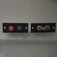 Terminal RCA Soket Tancap 2 Pin