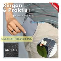 Sajadah Saku Traveling Lipat Waterproof Praktis Ringan 60x100cm Grey