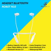 Headset Bluetooth Robot Sprit N10 Wireless Earphone Waterproof - PTH