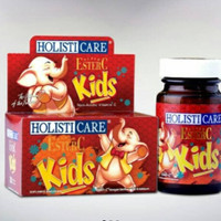 Holisticare super Ester c kids 30tablet /vitamin hisap