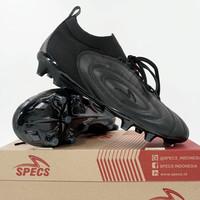 Sepatu Bola Specs Barricada Fuerza Elite FG Triple Black 101404 Ori