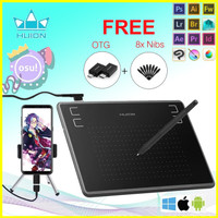 OSU Graphics HUION H430P Inspiroy USB signature Tablet drawing pen DKV