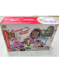 Mainan Anak Ice Cream Store Cash Register - Toko Kasir Es Krim