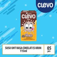 Clevo UHT Rs Ice Cream Cklt - 125ml (SUC05)