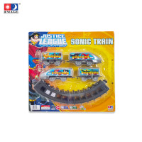 IMAGE TOYS mainan Sonic Train w/ Rail