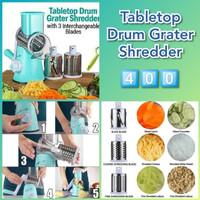 DRUM GREATER TABLETOP/ Parut Otomatis Alat Pemotong Manual Multifungsi