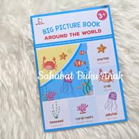 Buku Anak Big Picture Book Around the World 3+ Elex Media