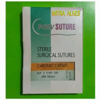Benang CHROMIC CATGUT PolySuture. Sterile Surgical Sutures POLY SUTURE