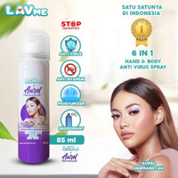 Lavme X Aurel 6 In 1 Hand & Body Spray Anti Virus - Fresh Oud