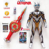 ULTRAMAN ORB & WEAPON FIGURE COLLECTION - MAINAN SUPER HERO ANAK MURAH