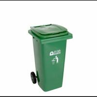 tempat sampah besar 120 liter roda bio 120 liter greenleaf 2312