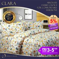 Clara Premium Bed Cover Set Bergaransi | Premium Bedding Set - Single