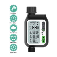 HANCI HCT-355 Water Digital Garden Timer Rain Sensor Electronic Auto