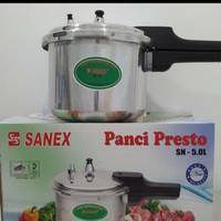 Panci presto 5 liter sanex