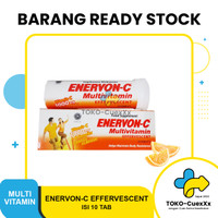 Enervon C Effervescent Vitamin C isi 10 tablet