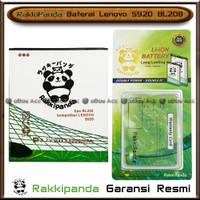 Baterai Lenovo S920 BL208 Double Power Batre HP Rakkipanda Original