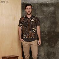 Malik Man Super Jumbo - Kemeja Batik Pria Lengan Pendek