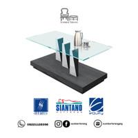 Coffee Table Siantano CT 001 / Meja Tamu Minimalis Kaca / Meja Kecil