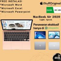 Macbook Air 2020 i5 8GB 512GB SSD MVH22 MVH42 MVH52 Garansi Resmi iBox - GARANSI INTER, BNOB GOLD
