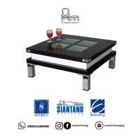 Coffee Table Siantano CT 592 / Meja Tamu Minimalis Kaca / Meja Kecil