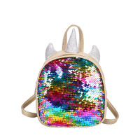 Tas Ransel Tas Sekolah Anak Unicorn Lucu 689 - Gold