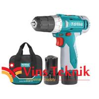 cordless drill driver mesin bor baterai 12V TOTAL TDLI228120