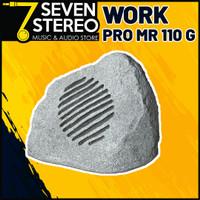 Speaker Taman Outdoor Anti Air WORK PRO MR 110 Grey LINE Pasif 8 inch