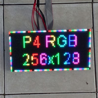 Panel Module Modul LED P4 Running Text SMD RGB Color Indoor 256x128mm