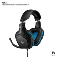 Logitech Headset Gaming G431 7.1 Surround Sound