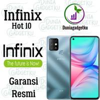 Infinix Hot 10 4/64 & 4/128 GB Garansi Resmi IMEI Terdaftar