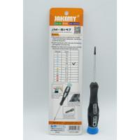 JAKEMY JM-8147 Obeng Torx T6 Magnetic Precision Screwdriver DIY Repair