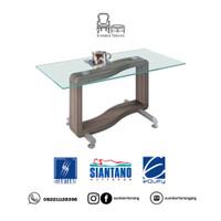 Coffee Table Siantano CT Iris / Meja Tamu Minimalis Kaca / Meja Kecil
