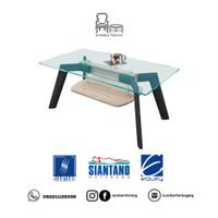 Coffee Table Siantano CT Violet Meja Tamu Minimalis Kaca / Meja Kecil