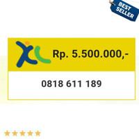 Nomor Cantik Perdana Nocan XL 10 digit seri dauble abc 189 189 g20