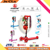 Scooter / Otoped / Skuter Anak Roda Tiga EXOTIC HB 005 Musik