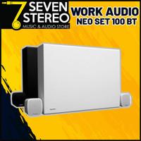 Paket Speaker Instalasi Wireless Bluetooth WORK NEO SET 100 BT BLACK